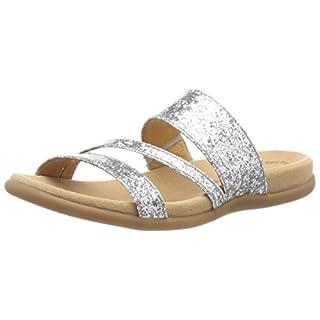 Gabor Shoes Damen Jollys Pantoletten, Mehrfarbig (Silber), 39 EU 858234449d