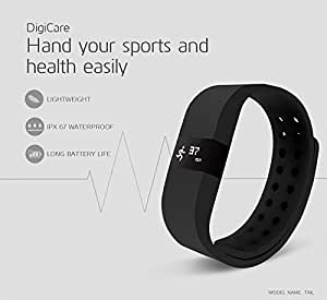 Link Plus Go Fit Pro 3D Fitness Band - Black For HTC Desire 626G Plus