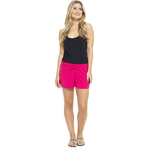 Lora Dora Damen Trikot Baumwollemischung kurze hose damen größe EU 8-18 Coral Pink Jersey Shorts