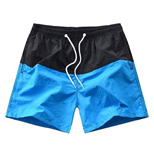 GERPY Männer Badeanzüge Muskel Herren Laufen Sport Surfen Bademode Badeshorts Badehose Strand Board Pant Patchwork Mode Shorts