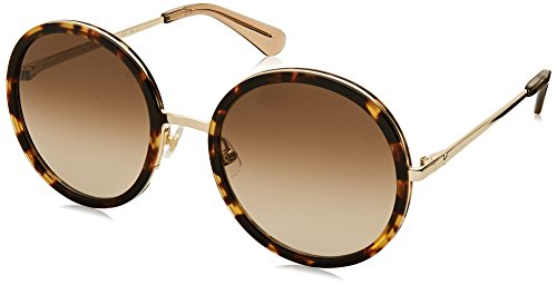 Sonnenbrillen Kate Spade LAMONICA/S HAVANA GOLD/BROWN SHADED Damenbrillen Kate Spade Spade
