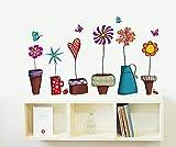 Hongrun Pot en Pot pour Enfants Maternelle avec Table de Multiplication Salon Chambre TV canapé Fond Mural Autocollant Mural Autocollant 60 * 40cm