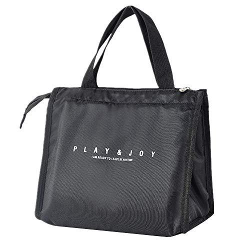KonJin Lunch Tasche Wasserdicht Leichte Picknicktasche Mittagessen Isoliertasche Thermotasche für Arbeit und Schule