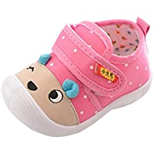 Dragon868 Kinder Baby Jungen Mädchen Cartoon Anti-Rutsch-Schuhe Soft Sole Squeaky Sneakers