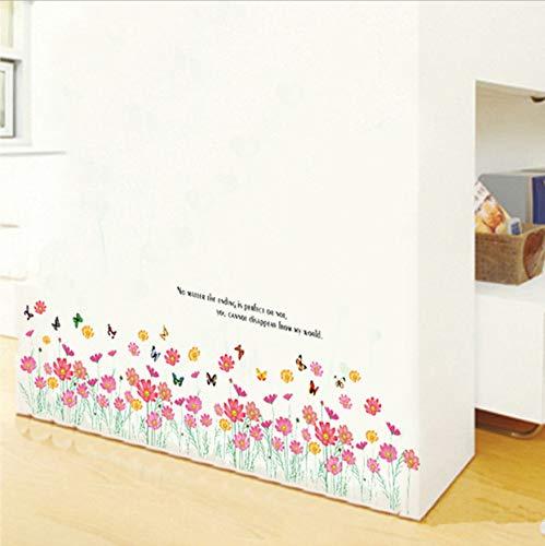 Motherboard 3D Rosa Kleine Blumen Wandaufkleber Wasserdichte Pvc Kunst Wohnzimmer Schlafzimmer Wandbild Aufkleber Home Decoration (Moderne Motherboard)