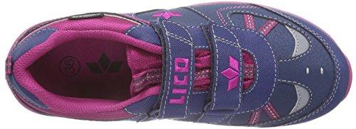 Lico - Palmer V, Sneaker basse Bambina Blu (Blau (marine/pink))