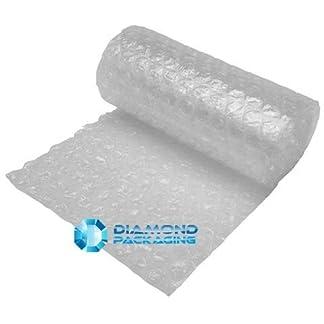 Diamond Packaging – Rollo de papel de burbujas (300 mm x 10 m, tamaño grande)