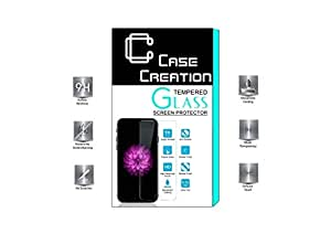 Case Creation (TM) Tempered Glass Screen Guard Protector for Panasonic Eluga S Mini