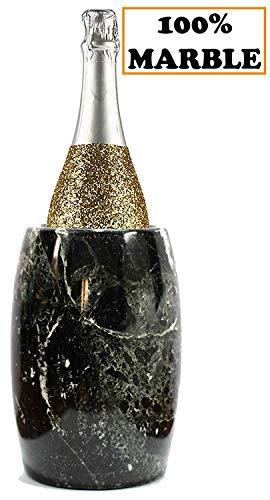 Radicaln Wine Chiller Eimer 12,5x12,5x16,5 cm Outdoor Marmor Black Chillers Kochgeschirr Halter,...