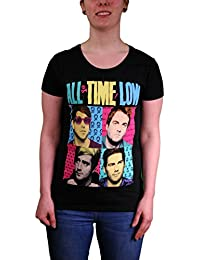 All Time Low Popart Skinny Fit T-shirt