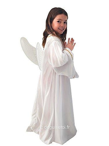 Costume da Angelo da Bambina Taglia 7/9 Anni - 69202