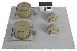 Joswood 17063 - Kit de construcción de Equipamiento Interior de la fábrica de amoníaco del Mundo con Corte láser