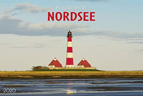 Faszination Nordsee 2020: Großer Foto-Wandkalender von der Küste und der Nordsee in Deutschland. PhotoArt Panorama Querformat: 58x39 cm.