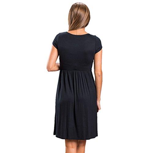 ASCHOEN - Robe - Femme Noir