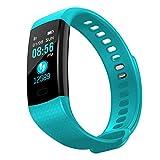 jaysis Smart Watch Sports Fitness Aktivität Herzfrequenz Tracker Blood Druck Uhr, mit 14Trainingsmöglichkeiten Sleep Monitor mit GPS Route Tracking Schrittzähler für Android oder iOS Smartphones.