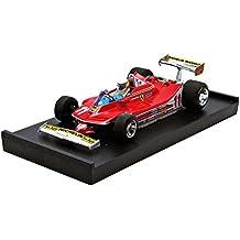 Modellino Auto Ferrari 312 T4 J. Scheckter 1979 #11 Winner Italy GP + Driver Figure Scala 1:43 Model R511CH