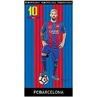 Toalla DE BAÑO Playa Piscina Leo Messi Nº 10 FC Barcelona 150 X 75 CM 100 63a58aba2b3