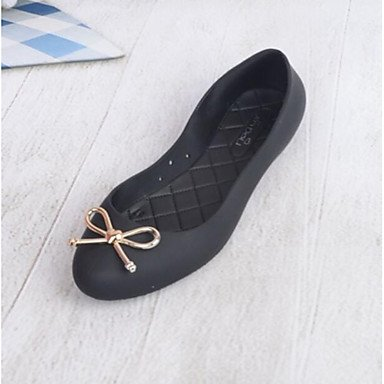 pwne Donna Sandali Slingback Estate Pu Casual Nero Argento US6 / EU36 / UK4 / CN36
