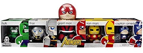 Hasbro Avengers SDCC 2011 San Diego ComicCon Exclusive Mighty Muggs Box Set The Avengers Hulk, Thor, Giant Man, Iron Man Captain America by Hasbro