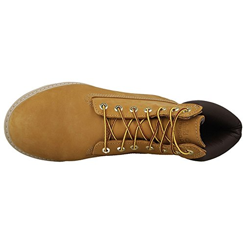 Timberland Newmarket 6 Inch Wedge Boot Waterproof C44529 - Wheat Nubuck 11 UK