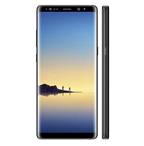 Samsung Galaxy Note 8, Tempered Glass, Premium Real [2.5D Round Edge] 9H Anti-Fingerprints & Oil Stains Coating Hardness Screen Protector Guard For Samsung Galaxy Note 8