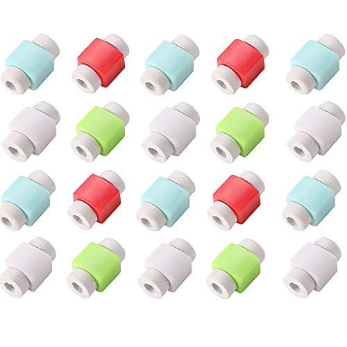 Limeo 20 Piezas Cubiertas Protectores De Cable Ahorro