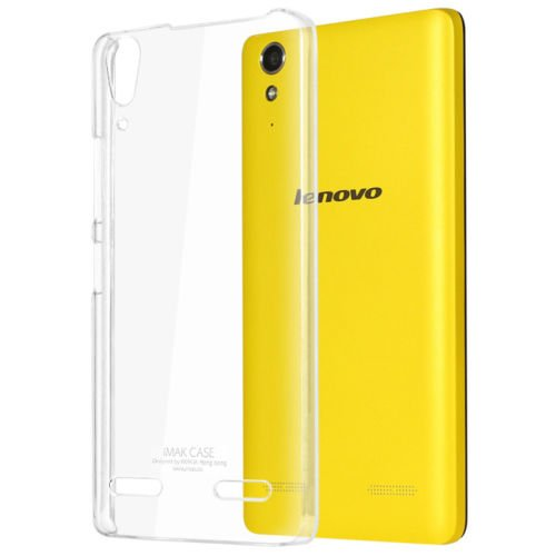 Lenovo A6000+ Plus - Crystal Clear [ Anti-slip ] Shockproof [ Hybrid ] Transparent [ Flexible ] Back Protector Cover  available at amazon for Rs.99
