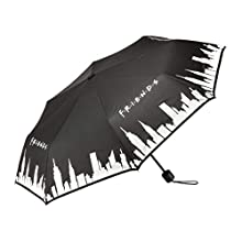 Friends TV Show Colour Change Umbrella - New York Manhattan Skyline Print - Officially Licensed