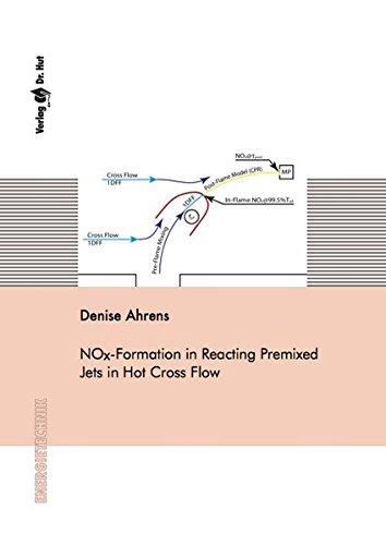 NOx-Formation in Reacting Premixed Jets in Hot Cross Flow (Energietechnik)