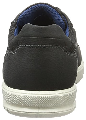 Ecco Ennio, Baskets Basses Homme Noir (51052Black/Black)