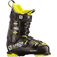 Salomon X-Pro 110 - Botas de esquí - L40551100, 28.5, Black-Acid Green-White