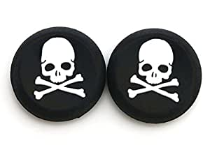 Gotor Analog controller Cap cover Thumb stick grip per PS4PS3XBOX ONE 360controller Skull
