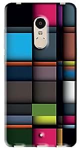 FCS Back Case For Xiaomi Redmi Note 4 [Pattern-303]