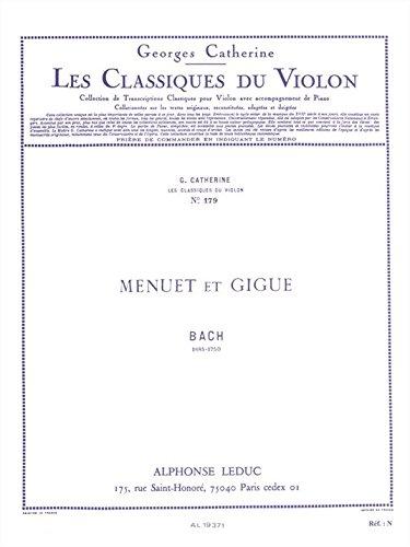 CLASSIQUE VIOLON N0179 MENUET ET GIGUE