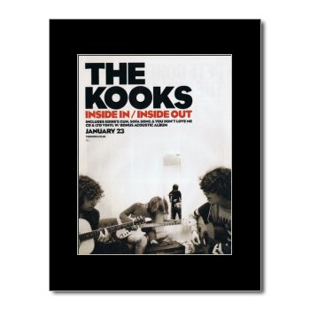KOOKS - Inside In/Inside Out Matted Mini Poster - 28.5x21cm