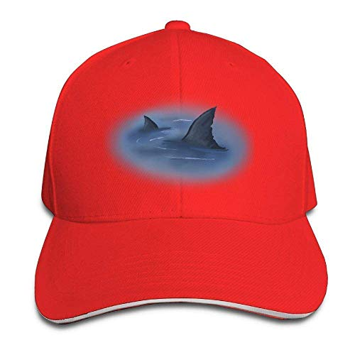 Men's Athletic Baseball Fitted Cap Hat World Oceans Day Sharks Durable Baseball Cap Hats Adjustable Peaked Trucker Cap 567 - World Baseball Fitted Hat Cap
