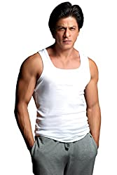ONN Premium Wear Mens Cotton Vest (NP 931_White_S)