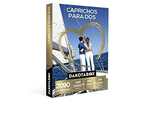 DAKOTABOX – Caja Regalo – CAPRICHOS PARA DOS – 2090 experiencias inolvidables para compartir