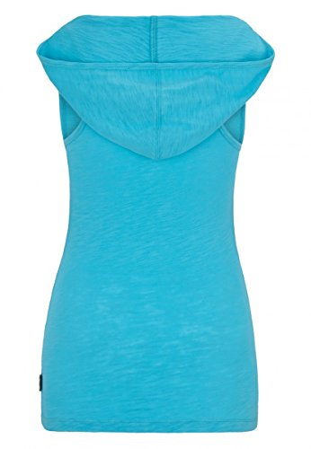 Lonsdale Damen Tanktop Hooded Verwood Aqua blue