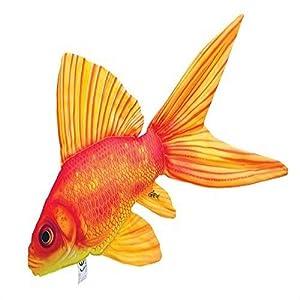 GABY Fish Pillows Goldfisch Kissen, Mehrfarbig, Medium