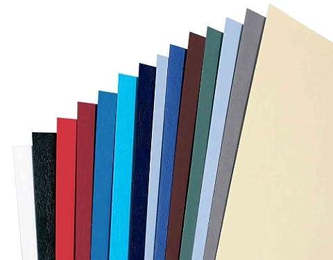 LeatherGrain Umschlagmaterial, A4, 100 Stück, nachtblau