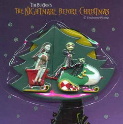 Puzzle Magnet-Set Nightmare Before Christmas Jack Skellington & Sally