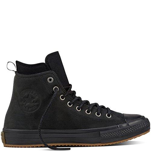 Converse Chucks High CTAS WP BOOT HI 157460C Schwarz Black, Schuhgröße:43