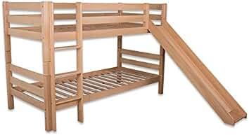 Etagenbett Abc Betten : Suchergebnis auf amazon für hochbett mit rutsche betten abc