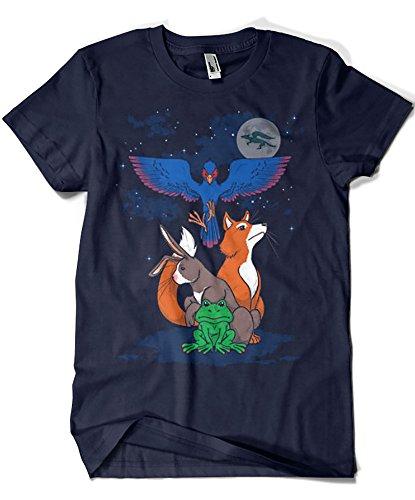 Camisetas La Colmena Herren T-Shirt blau blau Marineblau