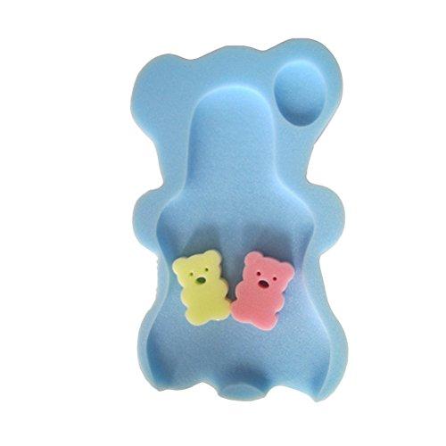 yeahibaby Duschschwamm Babysessel Halterung Autositz rutschfest komfortabel (blau Himmel)