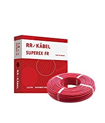 Rr Kabel Superex Fr Pvc Insulated Single Core Wire 1.5 Sq.mm 90 m