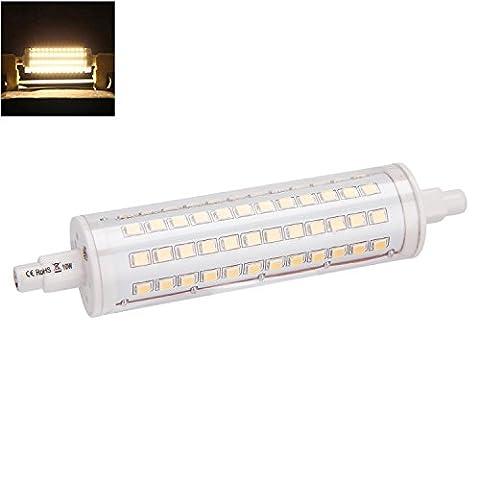 ANSCHE R7S LED Lampe 118mm Double Terminé 10W 360 degrés Angle de faisceau Blanc Chaud 3000K Dimmable Ampoule Haute Luminosité Remplacement Ampoule Projecteur Spot [Classe énergétique A+++]