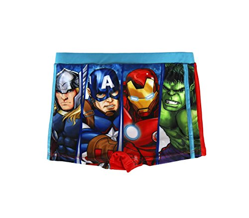 MEDIA WAVE store Costume a Pantaloncino The Avengers 2200001922 da 4 a 8 Anni (8 Anni)