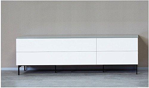 KITOON Sideboard/Lowboard (B 171 H 38 T 48 cm), Fußgestell, Nuß geölt (Echtholzfurnier) - 2